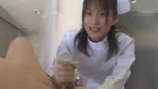 Screenshot 2020 05 07 Asian nurse handjob 320x180 - 【美竹涼子】スタイル抜群ナースの手袋シコシコ
