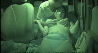 NTR 車載カメラは見ていたねとられの一部始終を - 【武居静香・坂本すみほ】ドラレコ 生々しい男女のヤリトリ 車中クドキ