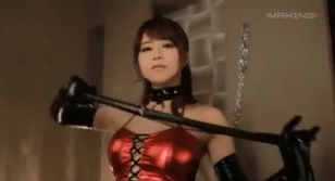 VIPフルコース in 吉沢明歩 - 【吉沢明歩】あっきーの気が強そうな顔はSM嬢役にはピッタリ