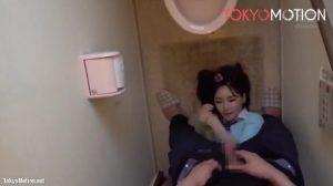 深田えいみ 300x168 - 【深田えいみ】トイレでフェラ抜き美少女 小便するよりスッキリ