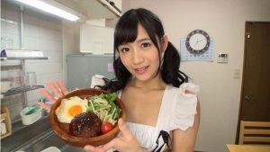300x169 - 【星奈あい】超美少女の恋人が裸エプロンの手料理