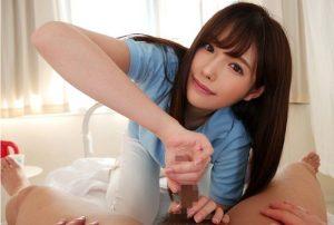 橋本ありな 300x202 - 【橋本ありな】美少女手コキ 業界初PTMHファック